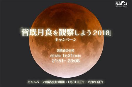 皆既月食を観察